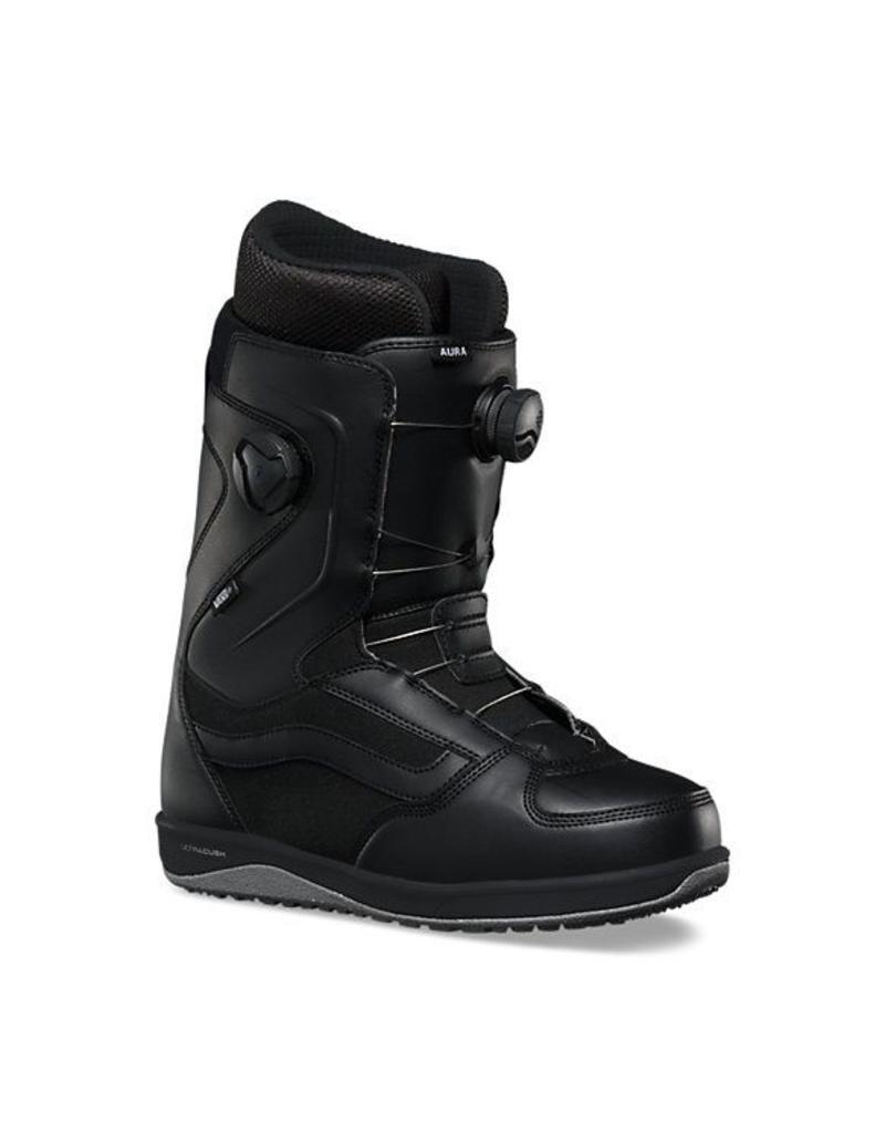 Vans Mens Aura Snowboard Boots Black