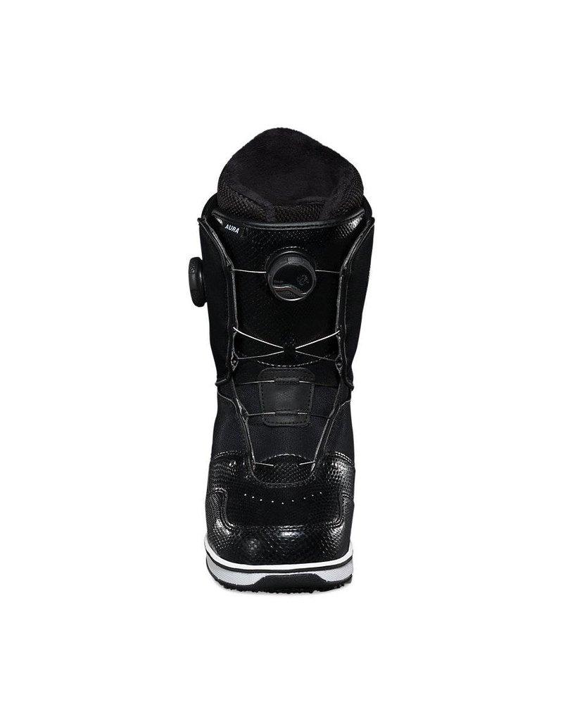 Vans Womens Aura Boots Black Double Boa