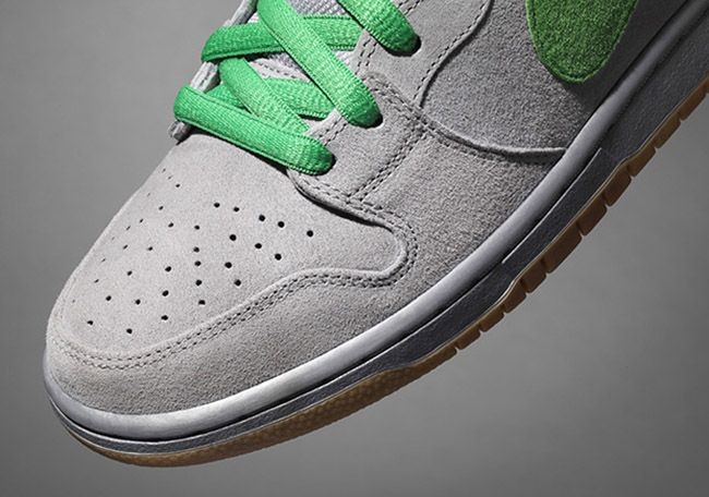 "Nike SB ""Silver Box"" Dunk High Shoes"