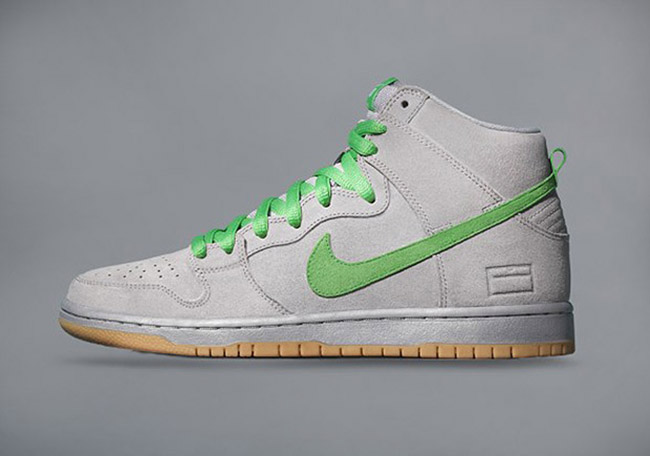 Nike Skateboarding Silver Box Dunks