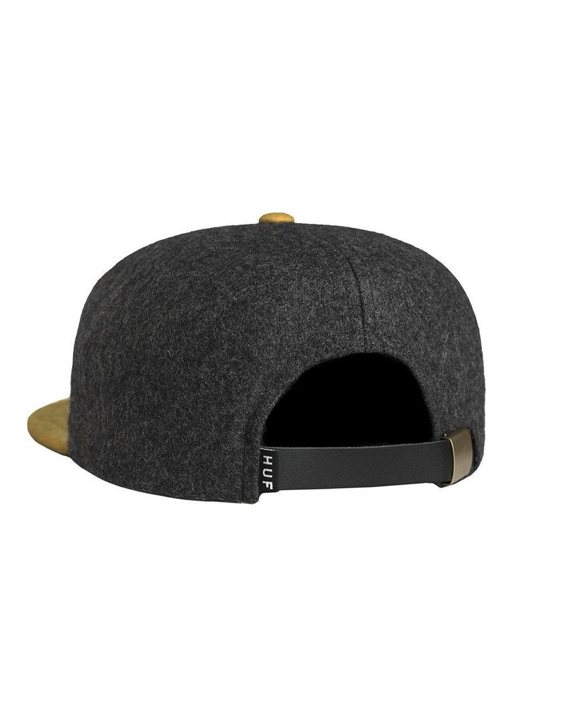 Huf Huf Pigpen Snapback Charcoal/Yellow