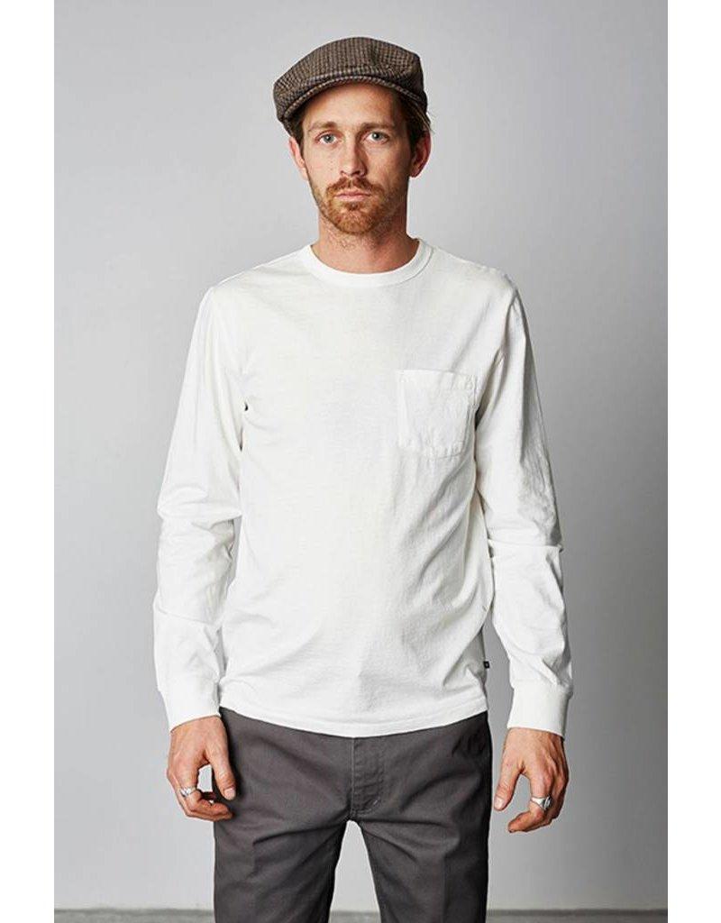 Brixton Brixton Chaplin L/S Pocket T-Shirt