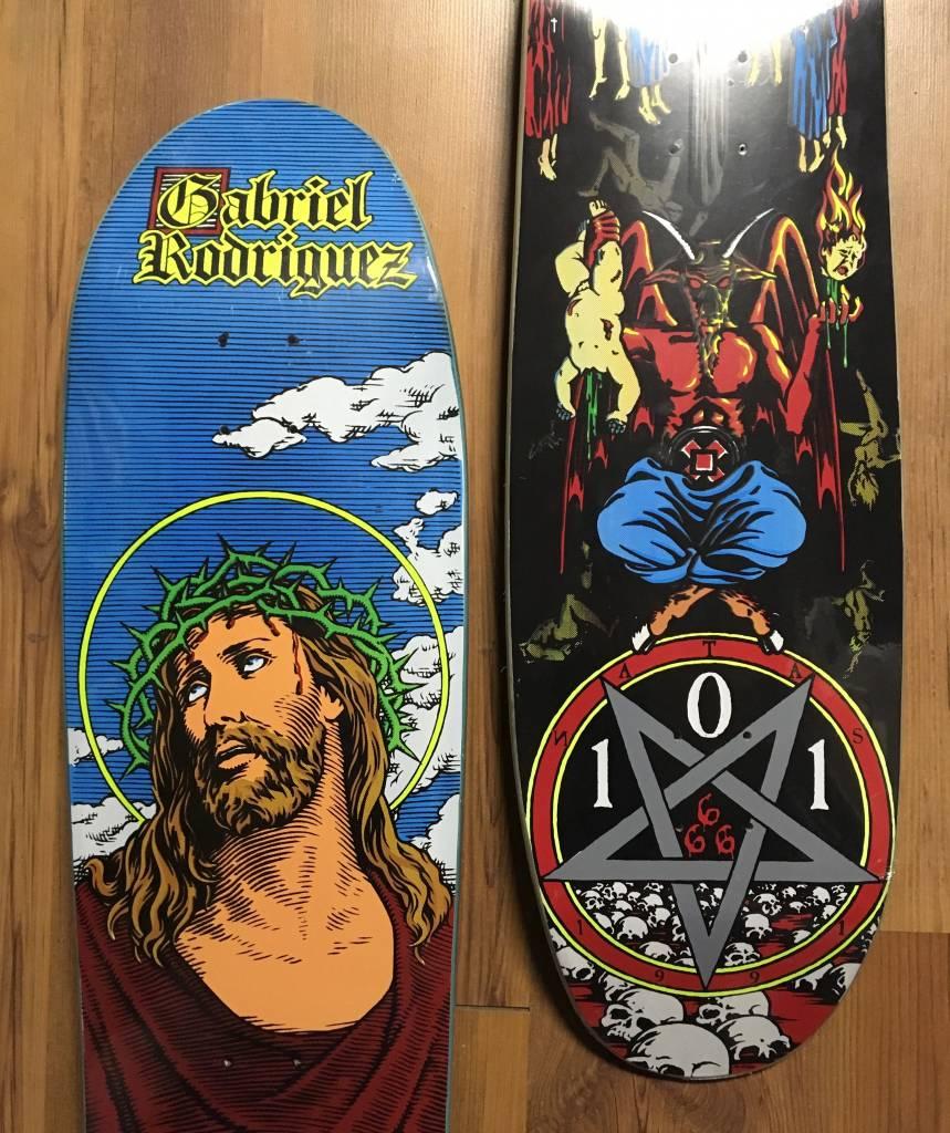101 Skateboards Re-Issue Decks