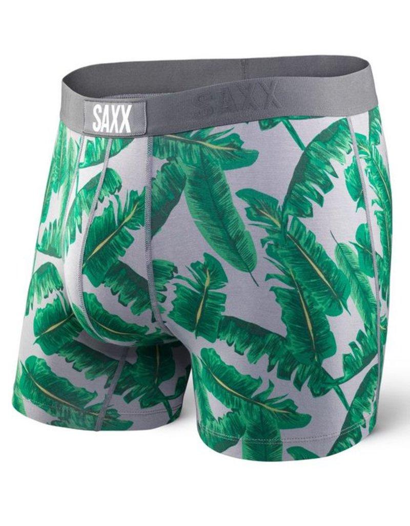 Saxx Saxx Vibe Boxers Grey Vintage Palm