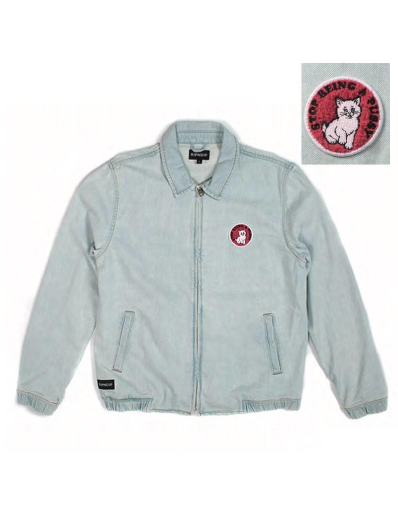 Rip N Dip Rip N Dip Stop Being A Pussy Denim Jacket