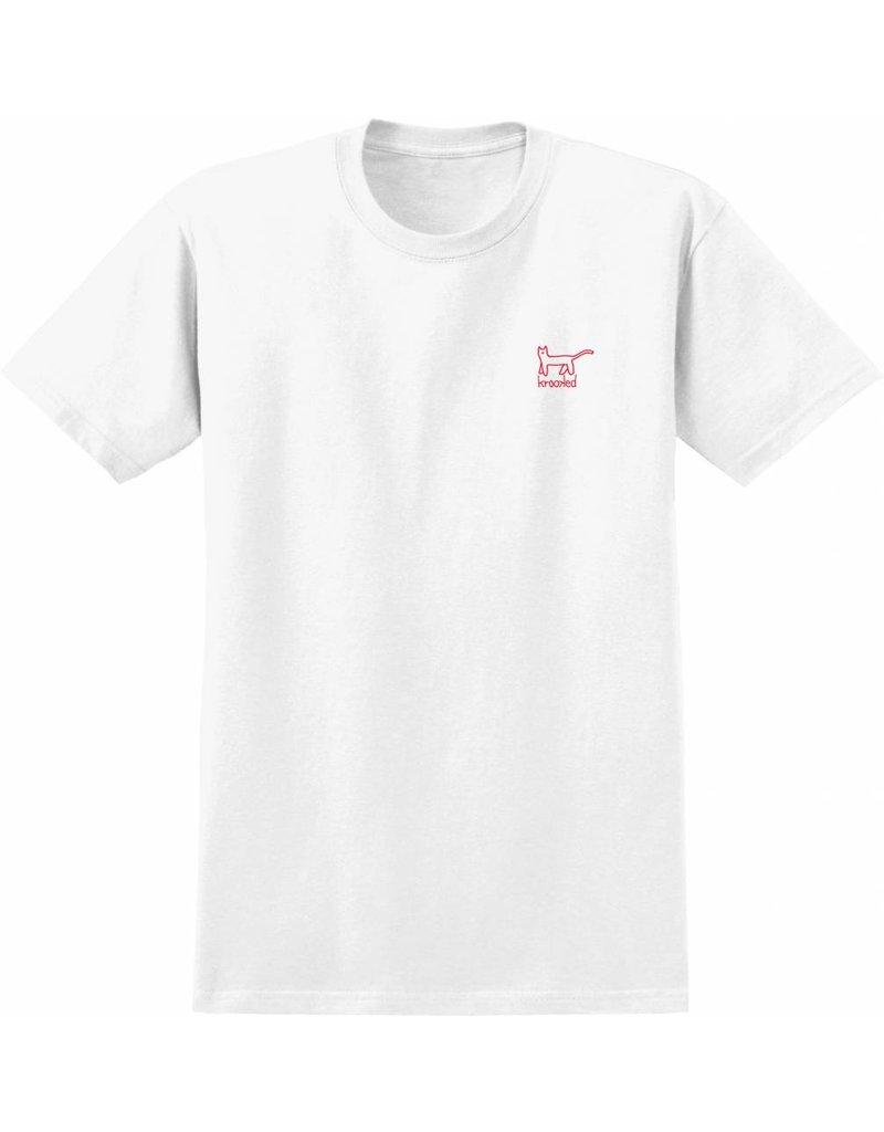 Krooked Krooked Kat EMB T-Shirt