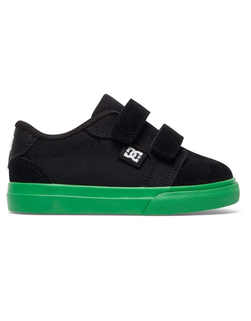 Dc DC Anvil Velcro Toddler Shoes