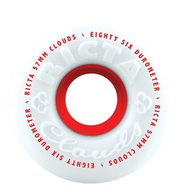 Ricta Clouds Red Wheels 86A (57mm)