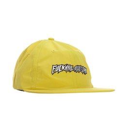 Fucking Awesome Fucking Awesome Outline Logo Hat (Yellow)