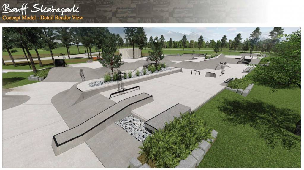 Banff Skatepark Plans