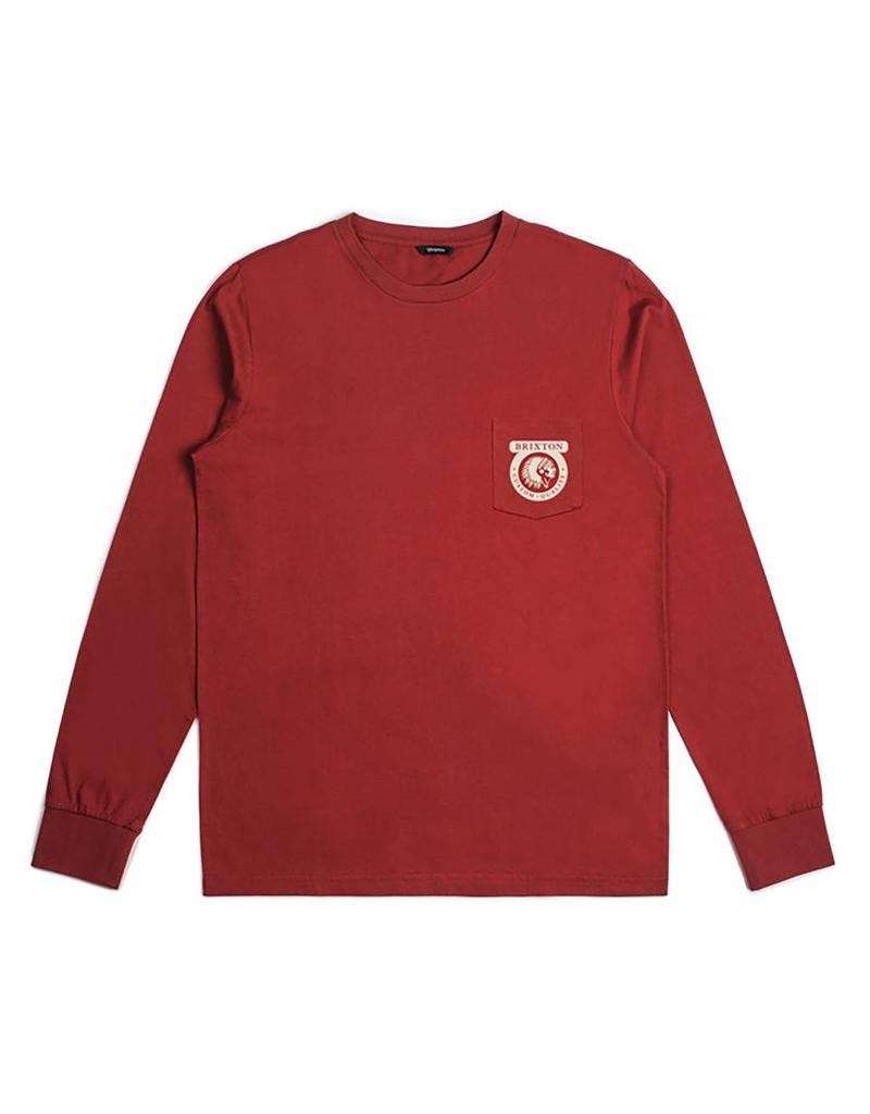 Brixton Brixton Native L/S Premium Pocket Tee