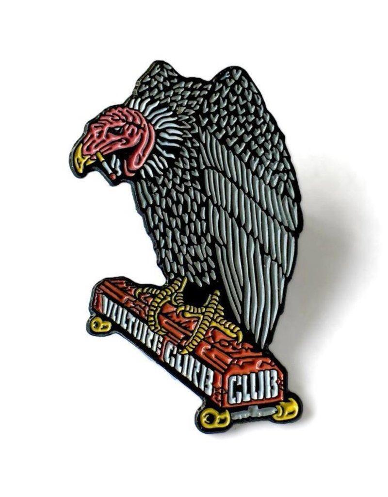Black Label Black Label Vulture Curb Club Pin