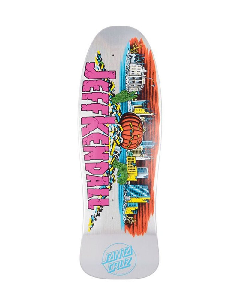 Santa Cruz Re-Issue Kendall Pumpkin Prismatic Deck