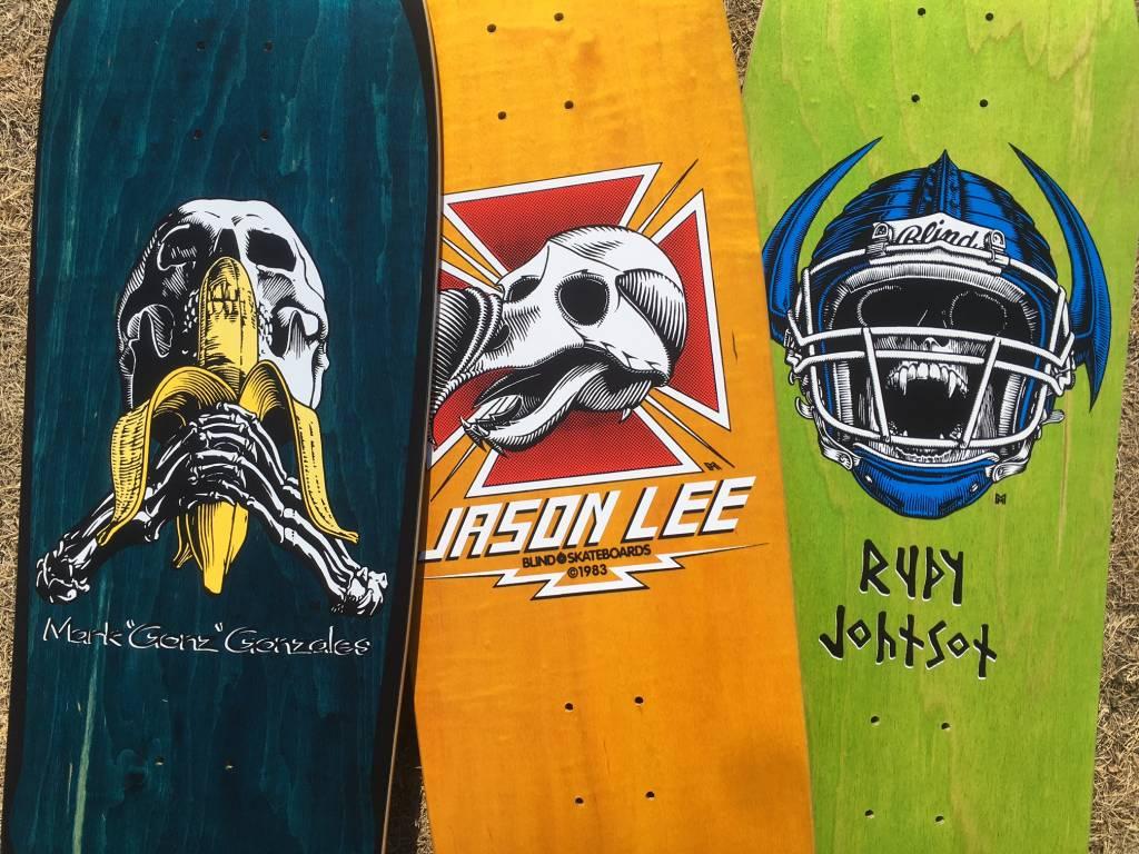 Blind Skateboards Heritage Re-Issue Decks