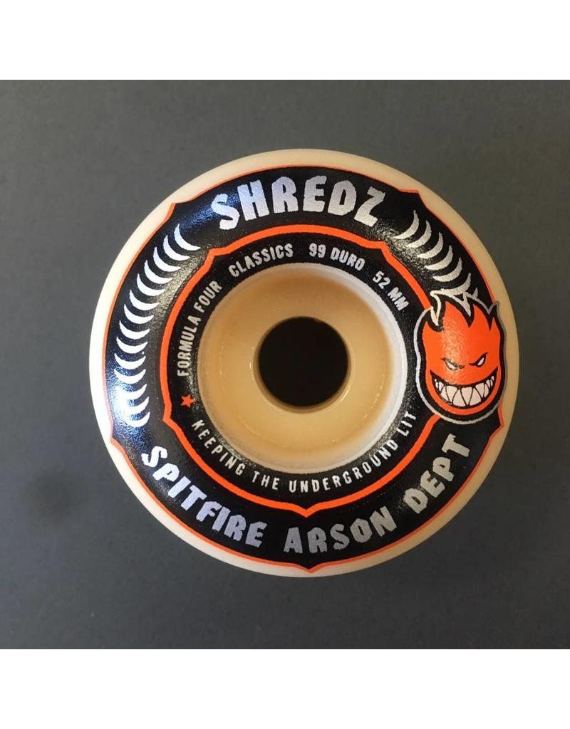 Spitfire Spitfire x Shredz Arsen Department Formula Four Wheels