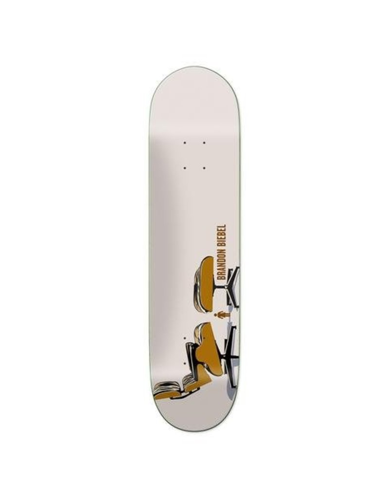 Girl Skateboards Modern Chairs Series Biebel Deck (8.0)