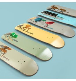 Girl Skateboards Modern Chairs Decks Complete Series