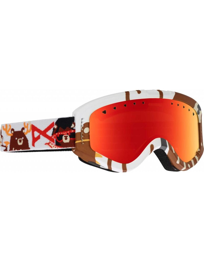 Anon Anon Tracker Goggles (Dabearz/Red Amber)