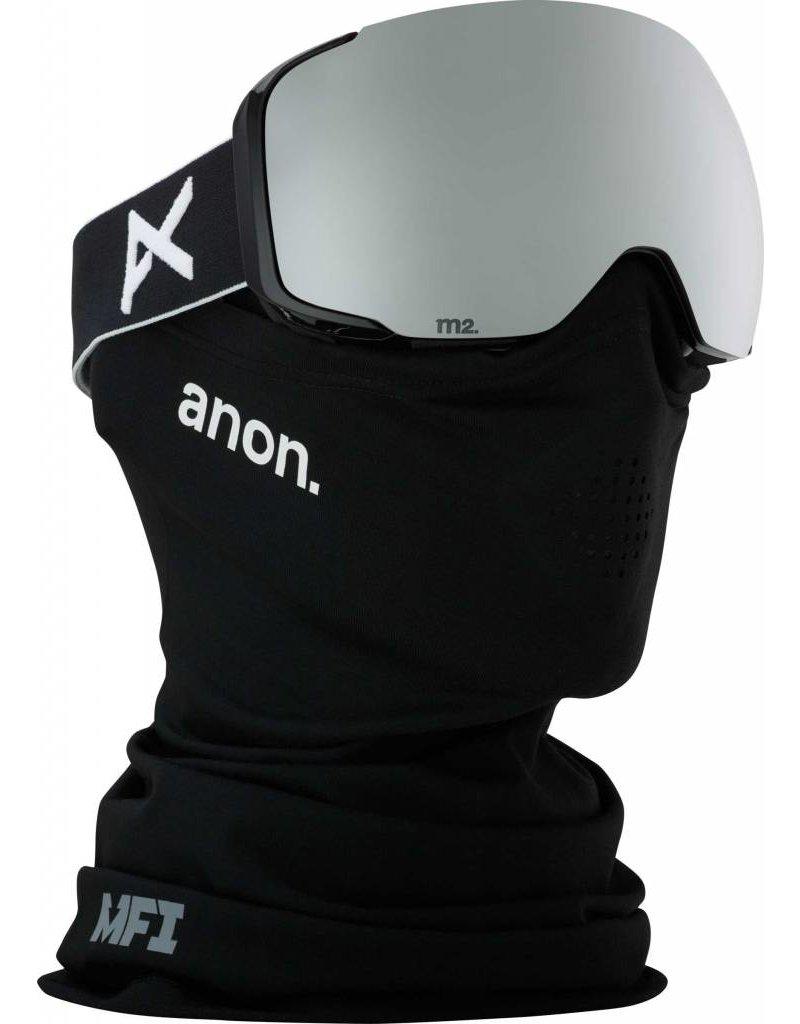 Anon Anon M2 MFI Black/ Sonar Silver by Zeiss (Bonus Lens)