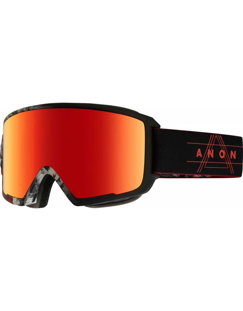 Anon Anon M3 MFI Red Planet/ Sonar Red by Zeiss (bonus lens)