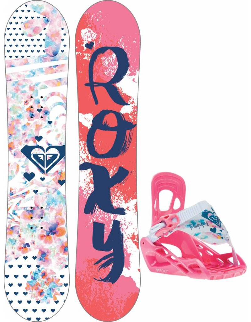 Roxy Poppy Package Snowboard Complete