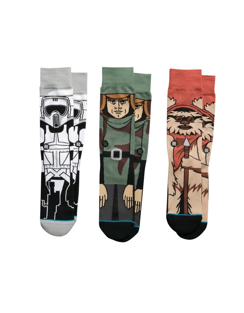 Stance Stance Star Wars Return Of The Jedi Pack Socks