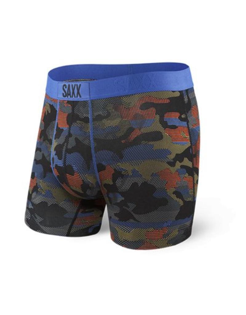 Saxx Saxx Vibe Boxers Cross Road Camo