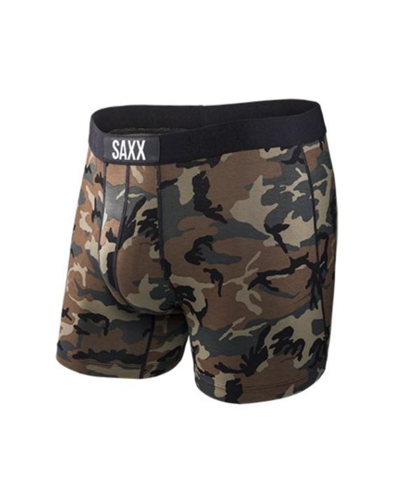 Saxx Saxx Vibe Boxers Woodland Camo