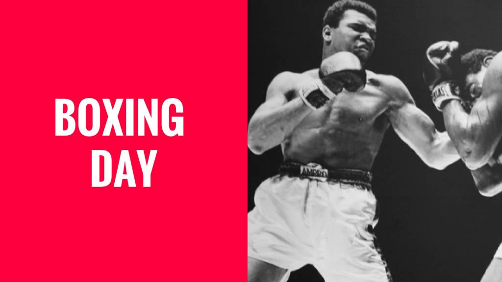 Boxing Day Sale 2017