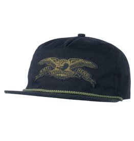 Anti Hero Anti Hero Eagle Patch Snapback Hat (Black/Olive)