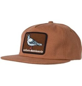 Anti Hero Anti Hero Pigeon Patch Snapback Hat (brown)