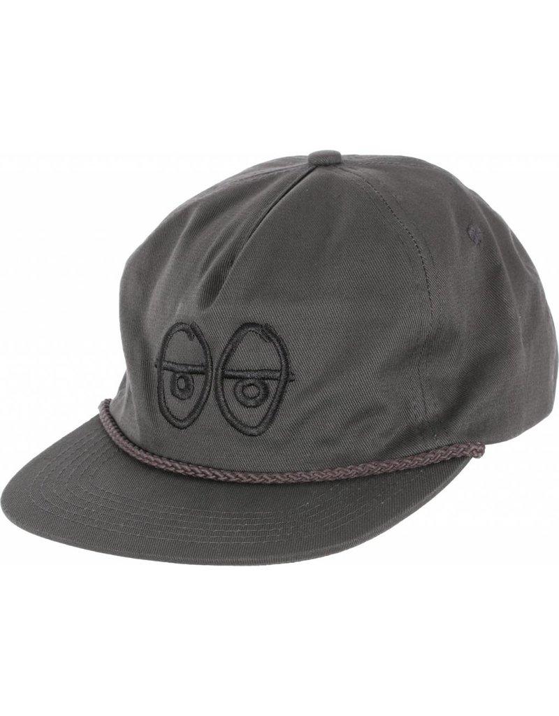 Krooked Krooked Eyes EMB Strapback Hat (Black Ink)