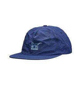 Krooked Krooked Kat EMB Strapback Hat (Navy)