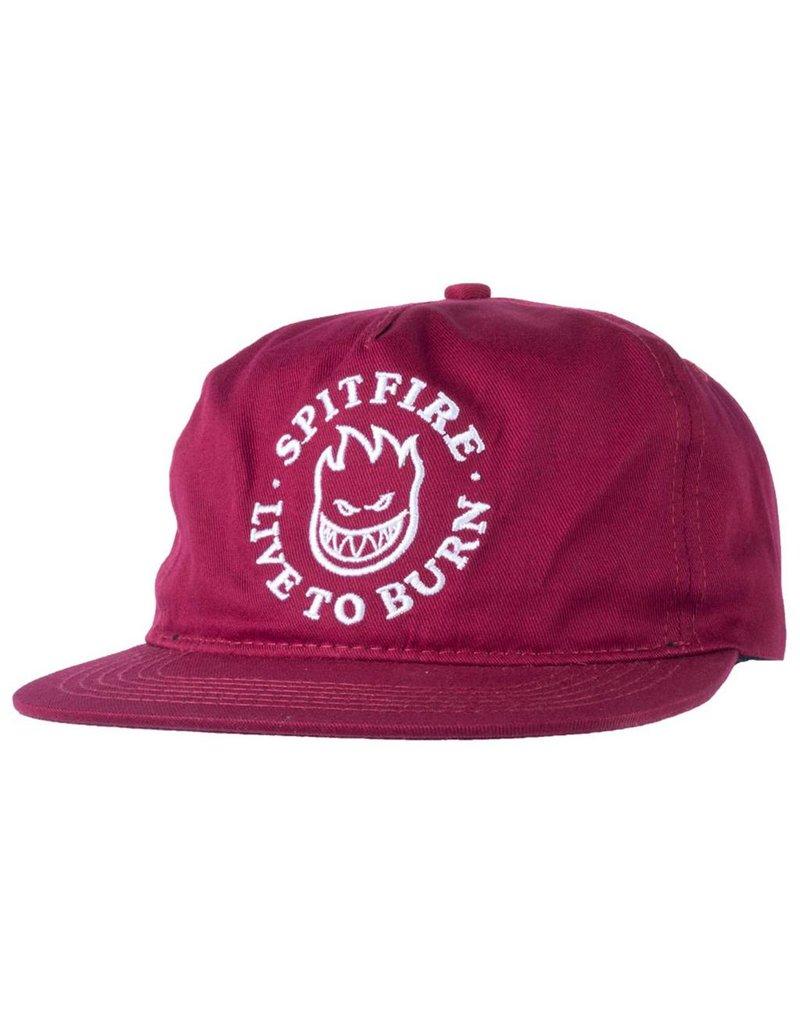 Spitfire Spitfire SF LTB Bighead Snapback Hat (burgundy)