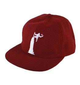 Theories Theories Empire Strapback Hat (crimson)