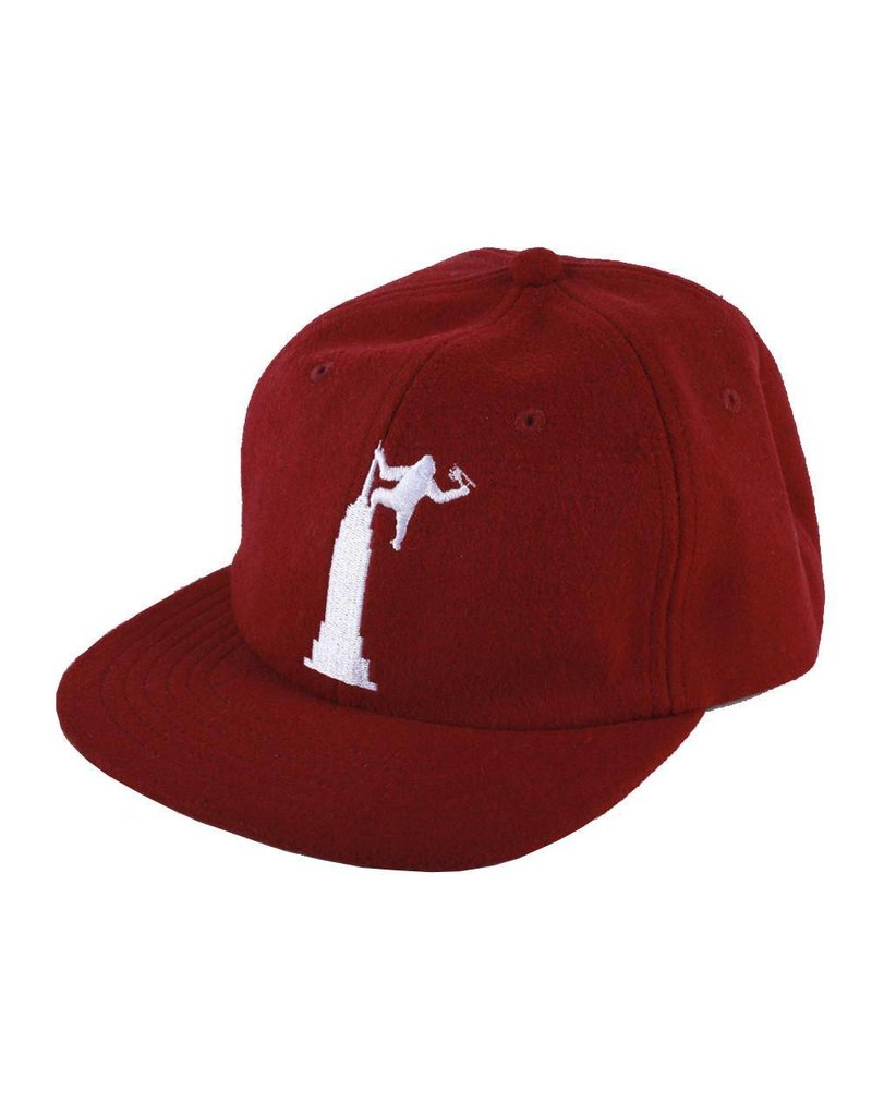Theories Theories Empire Strapback Hat (crimson)
