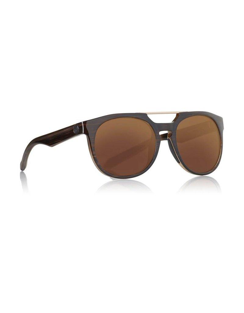 Dragon Proflect Sunglasses (matte wood/copper ion)