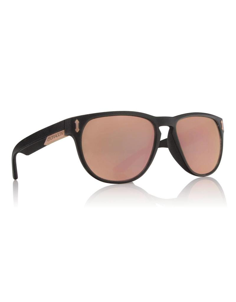 Dragon Marquis Sunglasses (Matte Black/Rose Gold)