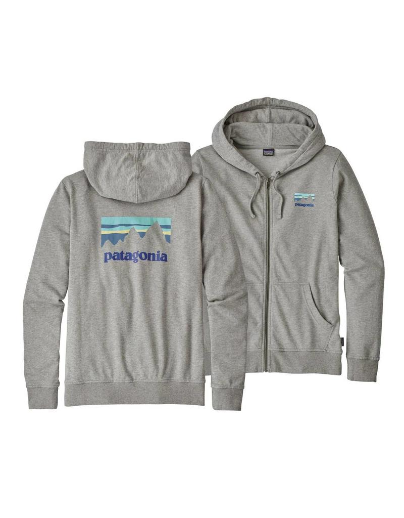 Patagonia Patagonia W Shop Sticker Zip Hoodie