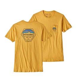 Patagonia Patagonia Fitz Roy Organic Pocket T-Shirt