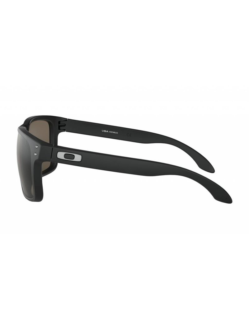 Oakley Holbrook XL Sunglasses (matte black/warm grey)