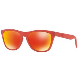 Oakley Frogskins Sunglasses (IR Red/ Prizm Ruby)