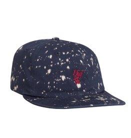 Huf Huf Splattered Bleach Hat (navy)