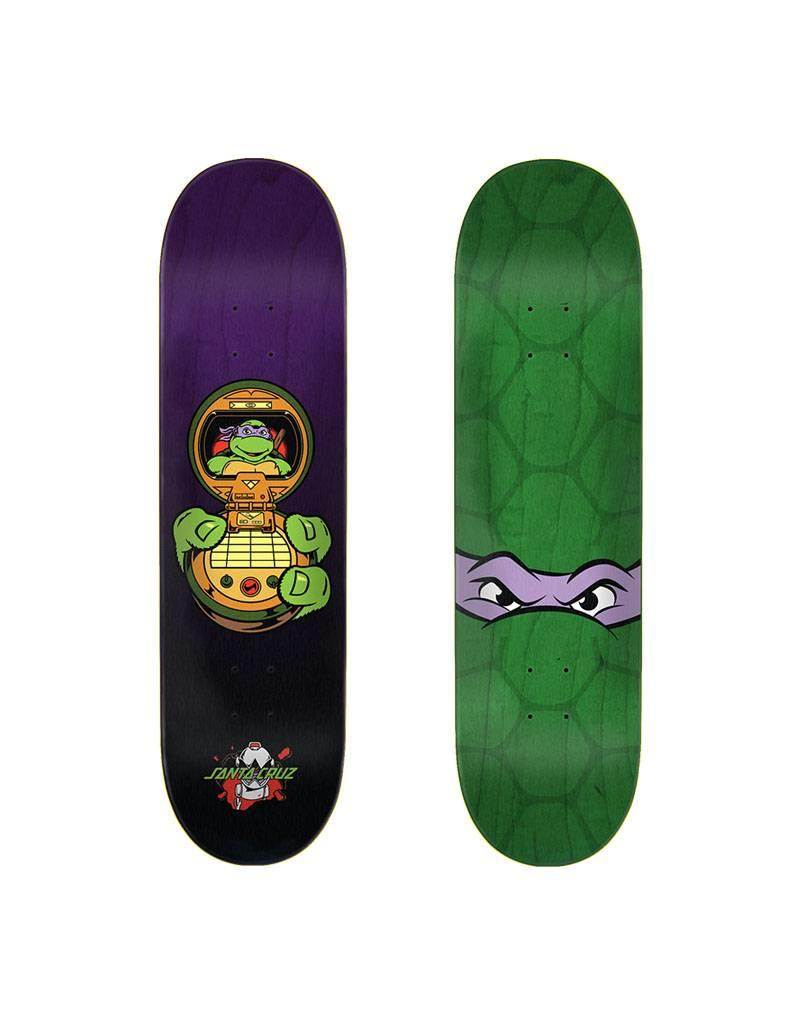 Santa Cruz x TMNT Deck Donatello 8.125x31.7