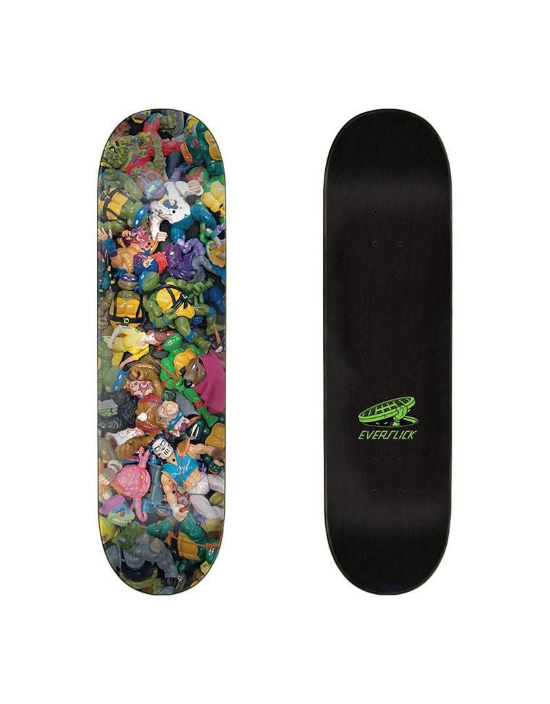 Santa Cruz X TMNT Toys Everslick Deck 8.0x31.6