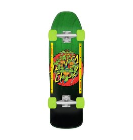 Santa Cruz x TMNT Turtle Power Cruzer 9.35x31.7