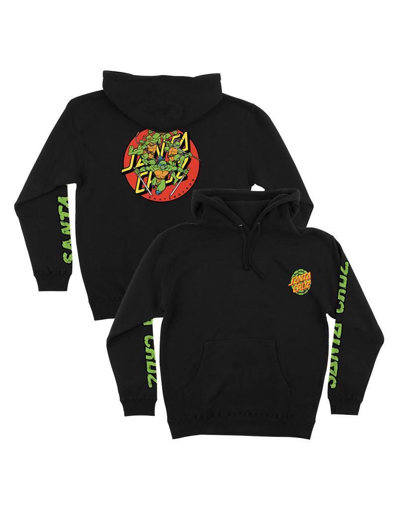 Santa Cruz x TMNT Turtle Power Hoodie