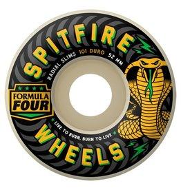 Spitfire Formula Four Radial Slims Wheels 101D (52mm)