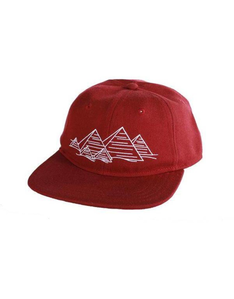 Theories Theories Fingerprint Hat (Crimson)