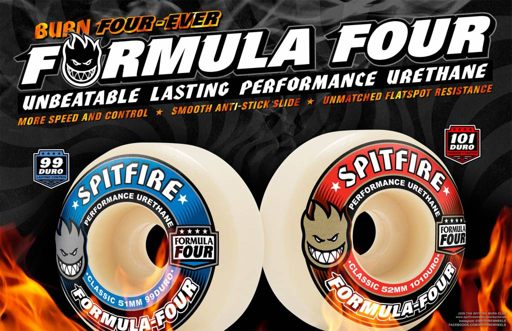 Everything You Need To Know About Spitfire Formula Four Wheels